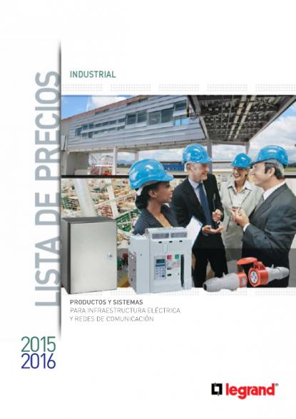 Lista De Precios Industrial 2015 Legrand Voltimum